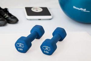 dieta fitness: foto pesi da palestra
