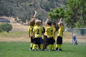sport per bambini: foto squadra calcio