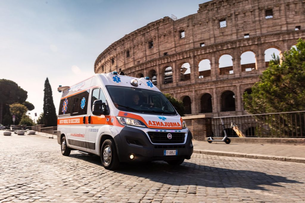 Ambulanza privata Roma COVID